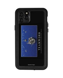 Military Inspirational Poster iPhone 11 Pro Max Waterproof Case