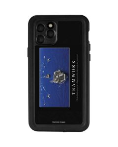 Military Inspirational Poster iPhone 11 Pro Waterproof Case