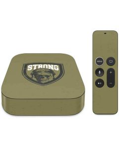 Military Strong Apple TV Skin