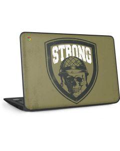Military Strong HP Chromebook Skin