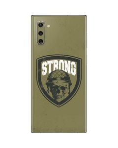Military Strong Galaxy Note 10 Skin