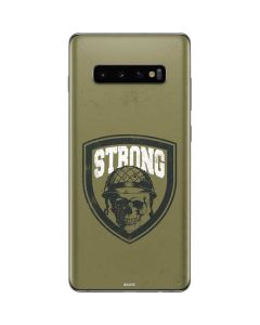 Military Strong Galaxy S10 Plus Skin
