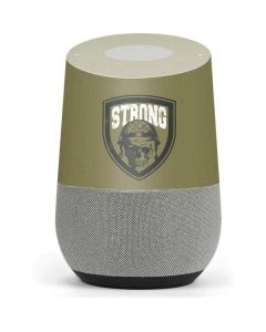 Military Strong Google Home Skin