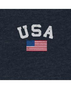 USA with American Flag Generic Laptop Skin