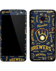 Milwaukee Brewers - Cap Logo Blast EVO 4G LTE Skin