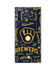 Milwaukee Brewers - Cap Logo Blast Galaxy Note 10 Skin