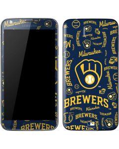 Milwaukee Brewers - Cap Logo Blast Galaxy S5 Skin