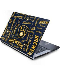 Milwaukee Brewers - Cap Logo Blast Generic Laptop Skin