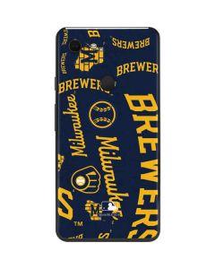 Milwaukee Brewers - Cap Logo Blast Google Pixel 3 XL Skin