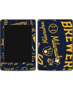 Milwaukee Brewers - Cap Logo Blast Amazon Kindle Skin