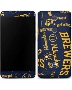 Milwaukee Brewers - Cap Logo Blast ZTE ZMAX Pro Skin