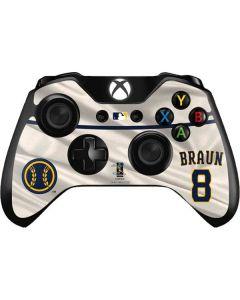 Milwaukee Brewers #8 Ryan Braun Xbox One Controller Skin