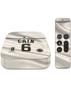 Milwaukee Brewers Cain #6 Apple TV Skin