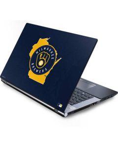 Milwaukee Brewers Home Turf Generic Laptop Skin