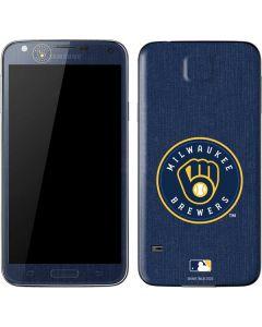Milwaukee Brewers Monotone Galaxy S5 Skin