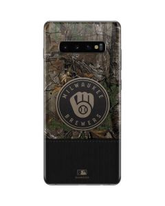 Milwaukee Brewers Realtree Xtra Camo Galaxy S10 Plus Skin