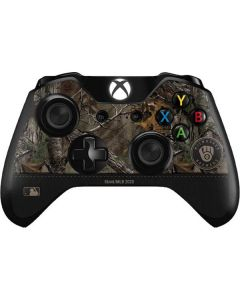 Milwaukee Brewers Realtree Xtra Camo Xbox One Controller Skin