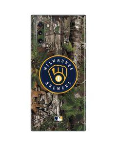 Milwaukee Brewers Realtree Xtra Green Camo Galaxy Note 10 Skin