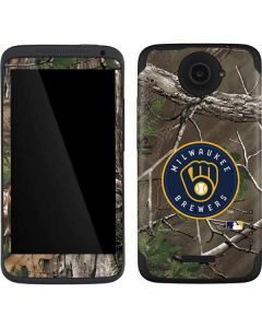 Milwaukee Brewers Realtree Xtra Green Camo One X Skin