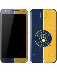 Milwaukee Brewers Split Galaxy S5 Skin