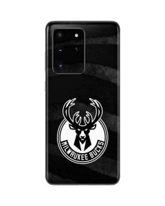 Milwaukee Bucks Animal Print Black Galaxy S20 Ultra 5G Skin