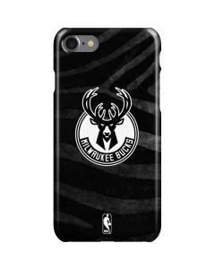 Milwaukee Bucks Animal Print Black iPhone SE Lite Case