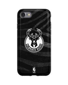 Milwaukee Bucks Animal Print Black iPhone SE Pro Case