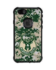 Milwaukee Bucks Camo Digi iPhone 6/6s Waterproof Case