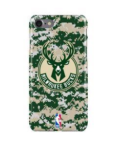 Milwaukee Bucks Camo Digi iPhone SE Lite Case