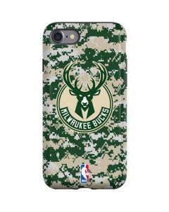 Milwaukee Bucks Camo Digi iPhone SE Pro Case