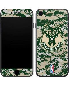 Milwaukee Bucks Camo Digi iPhone SE Skin