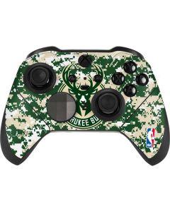 Milwaukee Bucks Camo Digi Xbox Elite Wireless Controller Series 2 Skin