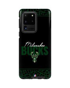 Milwaukee Bucks Elephant Print Galaxy S20 Ultra 5G Pro Case