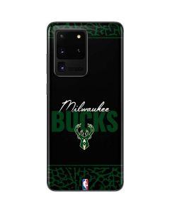 Milwaukee Bucks Elephant Print Galaxy S20 Ultra 5G Skin