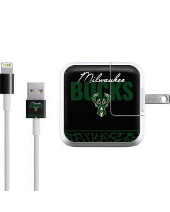 Milwaukee Bucks Elephant Print iPad Charger (10W USB) Skin