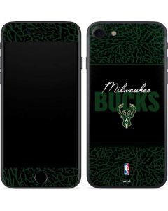 Milwaukee Bucks Elephant Print iPhone SE Skin