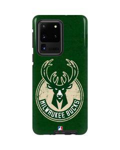Milwaukee Bucks Green Distressed Galaxy S20 Ultra 5G Pro Case