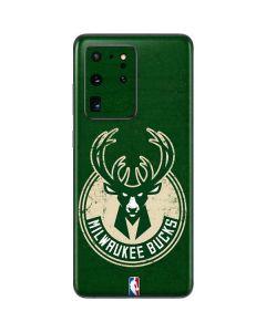 Milwaukee Bucks Green Distressed Galaxy S20 Ultra 5G Skin