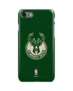 Milwaukee Bucks Green Distressed iPhone SE Lite Case