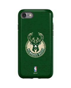 Milwaukee Bucks Green Distressed iPhone SE Pro Case