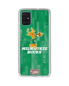 Milwaukee Bucks Hardwood Classics Galaxy A51 Clear Case