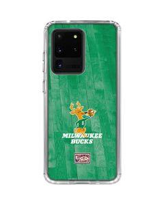 Milwaukee Bucks Hardwood Classics Galaxy S20 Ultra 5G Clear Case