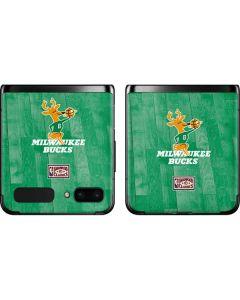 Milwaukee Bucks Hardwood Classics Galaxy Z Flip Skin