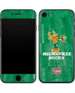 Milwaukee Bucks Hardwood Classics iPhone SE Skin