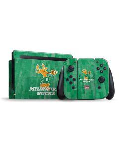 Milwaukee Bucks Hardwood Classics Nintendo Switch Bundle Skin