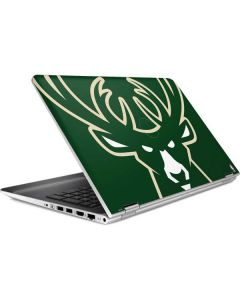 Milwaukee Bucks Large Logo HP Pavilion Skin