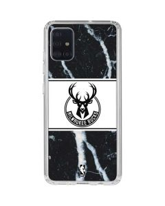 Milwaukee Bucks Marble Galaxy A51 Clear Case