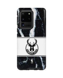 Milwaukee Bucks Marble Galaxy S20 Ultra 5G Pro Case