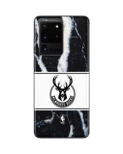 Milwaukee Bucks Marble Galaxy S20 Ultra 5G Skin