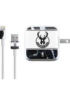 Milwaukee Bucks Marble iPad Charger (10W USB) Skin